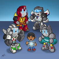 Commission - Favorite G1 Transformers by MattMoylan