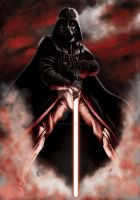 Darth Vader by odingraphics