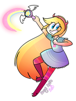 Star butterfly by PregiArts