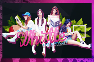 +Whistle | BlackPink | by danalol16