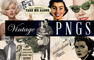 Vintage PNG Files by Grace-like-rainx