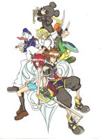 Kingdom Hearts 2:The Story Continuous by ClaireRoses