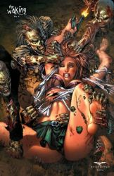 The Waking cover Zombies attack  by ebas