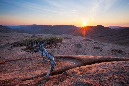 Richtersveld Dawn by hougaard
