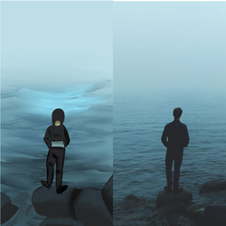 Looking out into the Ocean . . . (Comparison) by NScott144