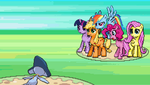 Pokemon Equestria Version - First Battle by Rose-Supreme