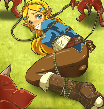 Breath of the wild: Bad damsel ending X3 by Banagherlinks