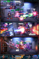 MMX:U49 - S1Ch17: Chain Vengefulness (Page 6) by IrregularSaturn
