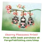 DAILY-Spring-Print-FWP-Cherry-Plossums-1600px-web by Cryptid-Creations