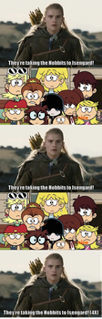 Loud sisters meets Legolas by EKJr