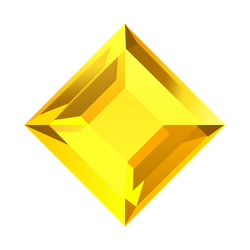 Bejeweled Yellow Gem by LDinos