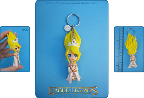 League of Legends - Chibi Janna Keychain by Nko-ennekappao