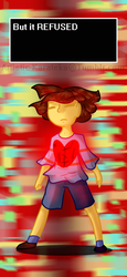 Undertale: You are filled with DETERMINATION by Artistic-Karateka
