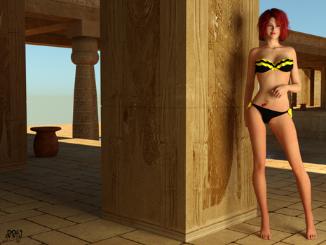 DAZ3D Ginger Egypt Lux 2 by g00fy1