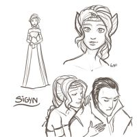 Sigyn Doodles by WendyDoodles