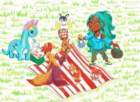 PTS - Picnic by SparrowDove