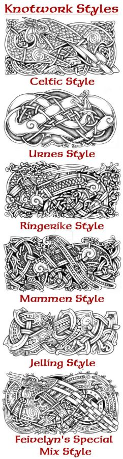 Knotwork Styles