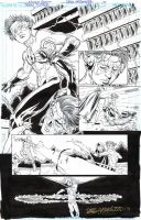 TEEN TITANS #100 Pg 12 - KID FLASH Featured SOLD by DRHazlewood