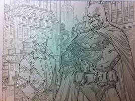 Gordon and some other guy by BChing