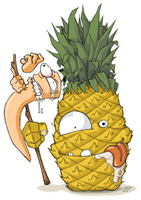 Pineapple on a stick? Nope... by the-error404