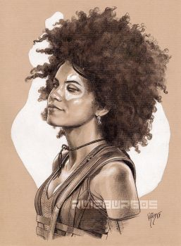 DOMINO portrait by RUIZBURGOS