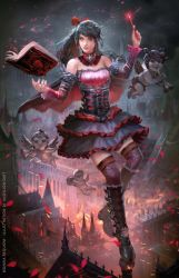 HAPPY VALENTINE, SPREAD THE LOVELY CHAOS by andyliongart