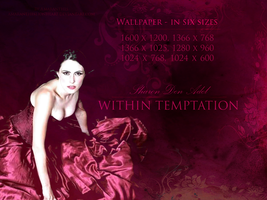 Sharon Den Adel (Within Temptation) Wallpaper by AmaranthesLionHeart