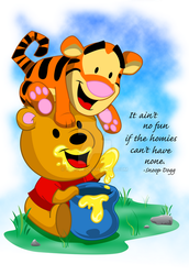 Winne the pooh and tigger too by kudoze