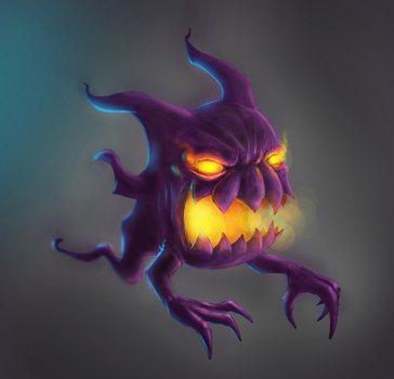Pokemon Haunter by nemesis222