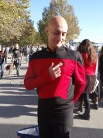 Jean-Luc Picard (Star Trek TNG) Lucca Comics 2016 by Groucho91
