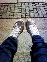 my shoes - converse by Aajla
