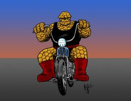 The Thing colored by pjperez