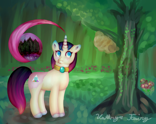 Dawn Shade: My Little Pony: Original Character by KittyCatRainbow