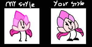 My Style/Your Style by latiapainting