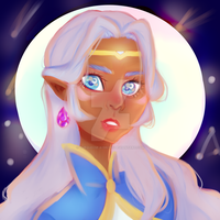 Space Mom by turquoise-ribbons