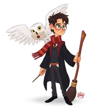Harry Potter by LuigiL