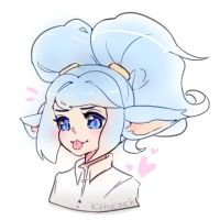 Star Guardian Poppy Sketcharoo by KittyCouch