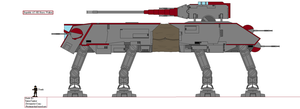 (ALT SW) Republic AT-HE Heavy Walker by TinkerTanker44432