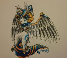 Animal Jam Play Wild-My Pegasus Fox by Amelyanna