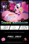 Double Rainboom's Third Promotional Poster by oxinfree