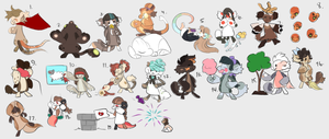 [ARPG] Spring Carnival Ticket Drawings 2 by StyxLady