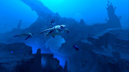 360 Art Underwater Atlantis by Hideyoshi