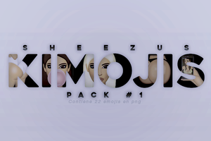KIMOJIS /PACKPNG 1/ by Sheezus