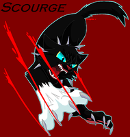 Scourge - Leader of Bloodclan by PeregrineTheGryphon