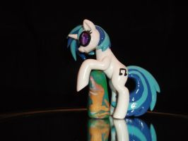 Vinyl Scratch Laptop Hugger (side view) by DeadHeartMare
