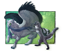 commission wolfgryph by CrowFangs