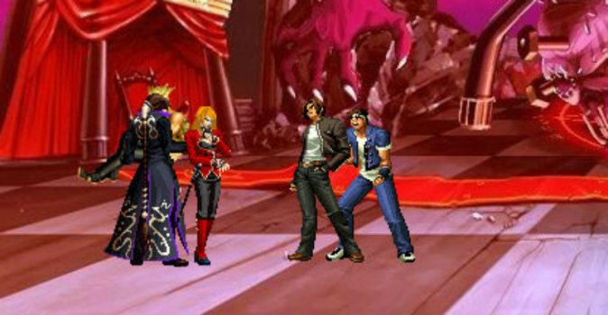 Storyline of MUGEN: The Rival vs Esaka by arctic2009