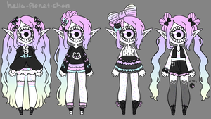Outfit Set - Resa by hello-planet-chan