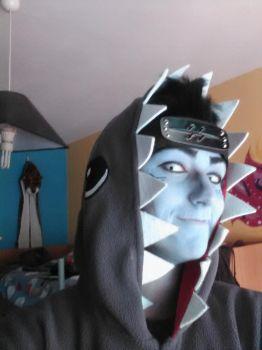 Kisame cosplay: an alternate outfit by animecat33