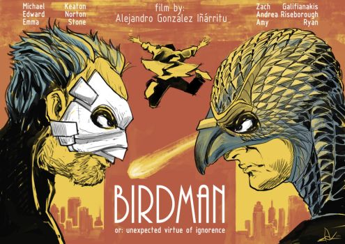 Birdman fan-poster by Ziekon
